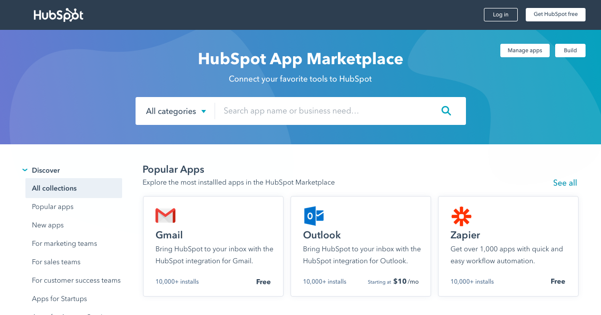 App Collections for HubSpot